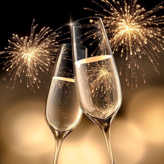 alles Gute fuer das Neue Jahr