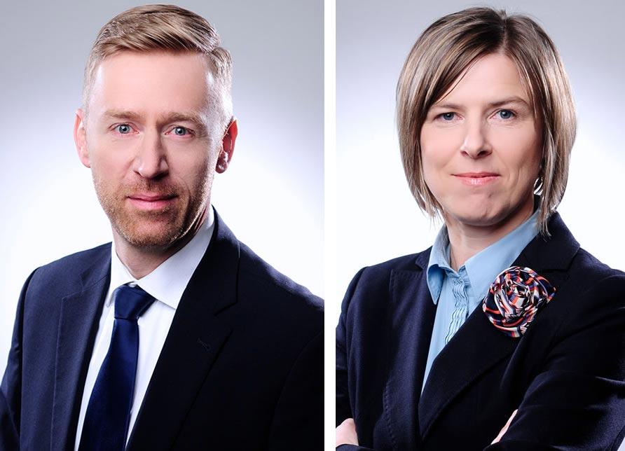 Andreas Albrecht (38) und Carmen Vondran (46)