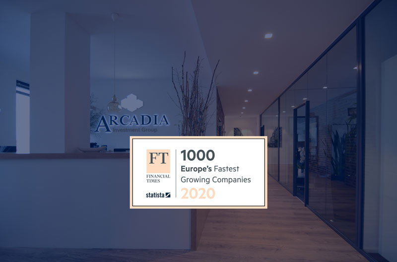 Financial Times award 2020