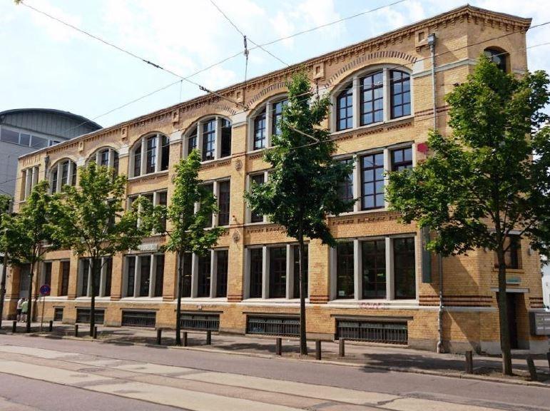 Front side of Wittenberger Straße 17 in Leipzig