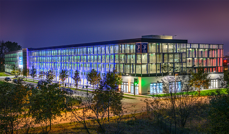 """Northgate"" multi-storey car park in the ""gatelands"" business park"