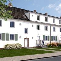 Wohnprojekt Lindenquartier in der Endphase der Sanierung
