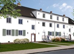Lindenquartier residential project in refurbishment end phase