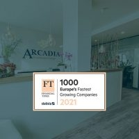 ARCADIA remains one of Europe's fastest growing companies in 2021