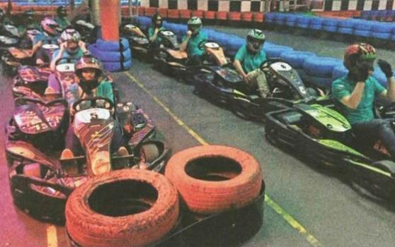 ARCADIA 1st Go-kart Racing Cup