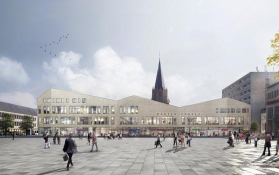 Achim Griese und ARCADIA vermieten Ladenlokal und Büro an Stadtwerke in Neubrandenburg