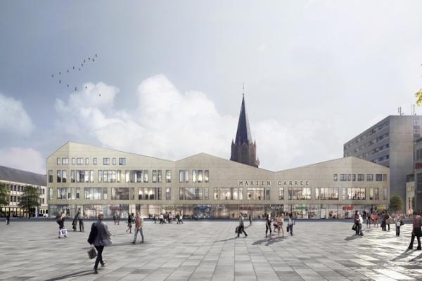 Mehr als 300 m² Einzelhandelsfläche wurde an die Neubrandenburger Stadtwerke GmbH vermietet