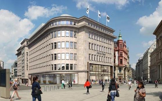 """ARCADIA Investment GmbH und AENGEVELT vermitteln rund 660 m² Bürofläche Leipziger """"Merkurhaus"""""""