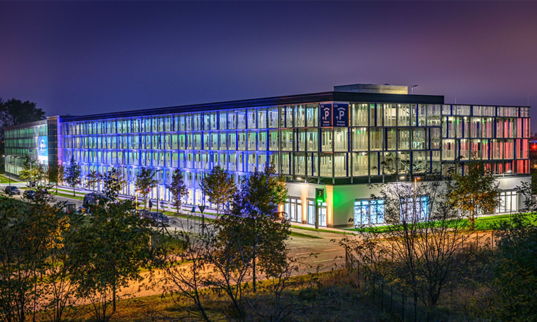 "Opening of ""Northgate"" multi-storey car park at BER"