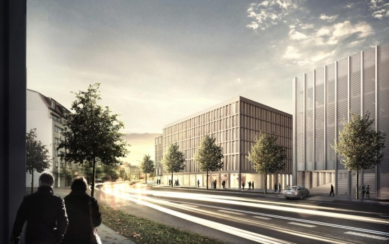 ARCADIA Investment GmbH conceptualises car park for S&G Development GmbH at Leipzig Main Station