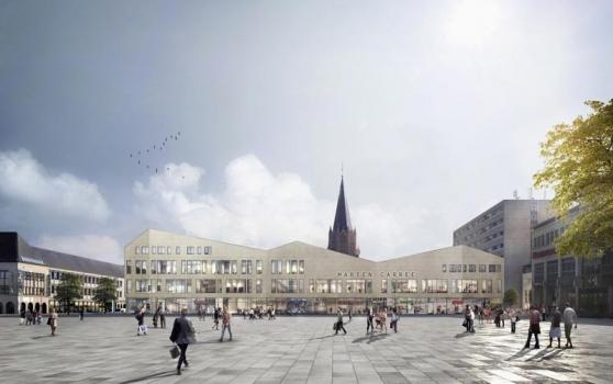 dm-Drogeriemarkt rents flagship store in Marien-Carrée in Neubrandenburg with over 850 m²