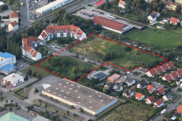 Overview of the plots of the residential project in Sonnengrund in Taucha