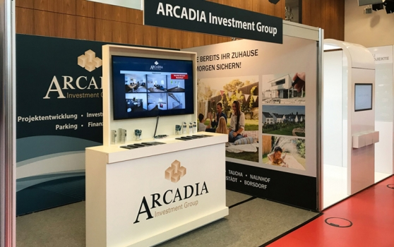 ARCADIA Investment Group presents itself again at the house and real estate trade fair of the Sparkasse Leipzig