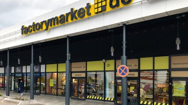 Ein Beispiel für einen Factorymarket –Shop nahe Berlin