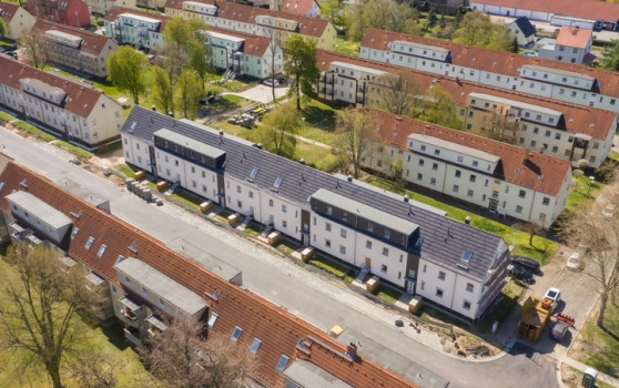 "Sale of all eight town houses of the project ""Kö 2-8"""