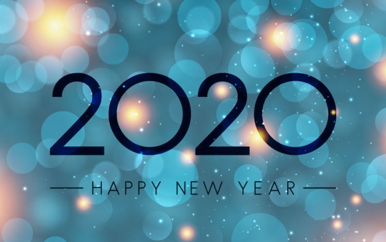 New Year's greeting 2020