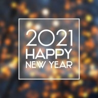 New Year's greeting 2021