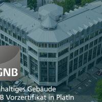 """DGNB Vorzertifikat in Platin für Umbau des """"Löhrs Eck"""" in Leipzig"""