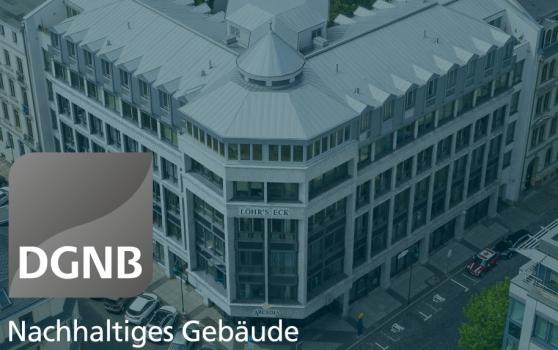 "DGNB Platinum pre-certificate for conversion of the ""Löhrs Eck"" in Leipzig"